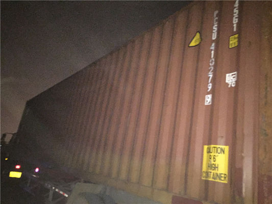 Used 40 Ft Hc Shipping Container Dimensions OD 12.19m*2.44m*2.9m