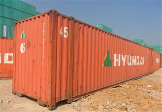 China 45 Feet  High Cube Second Hand Sea Containers / 2nd Hand Shipping Containers  supplier