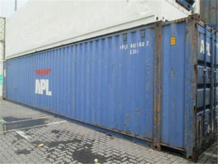 45 Feet  High Cube Second Hand Sea Containers / 2nd Hand Shipping Containers