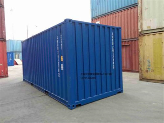 China 20gp Steel Dry Purchase Used Cargo Containers / Blue International Container supplier