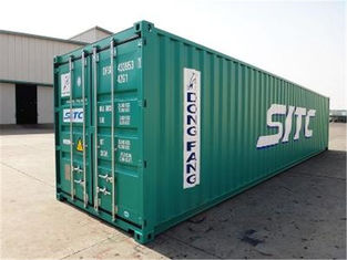 Steel Dry Used Metal Shipping Containers 20 Feet 33 Cbm For Road Transport