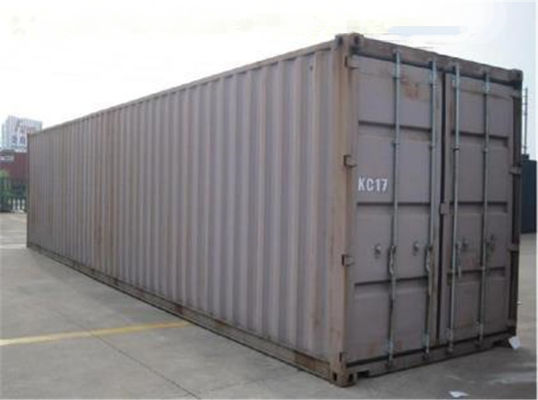 China Used Metal Shipping Containers 40gp Steel Dry Storage Containers supplier