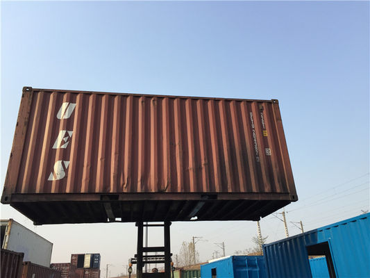 China second hand used storage containers International standards 6.06m length supplier