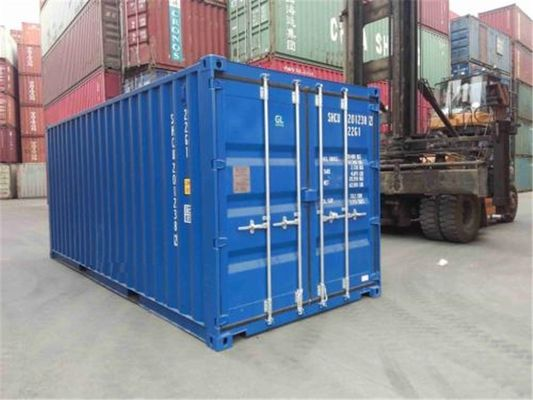 China International Standards Used Steel Storage Containers 20 Feet supplier