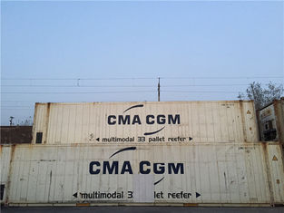China White Metal High Cube Reefer Container 40 45 20 Feet Hq Container supplier