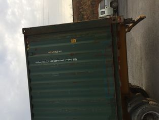 China 40gp Steel Dry Used 40ft Shipping Container For Road Transport supplier
