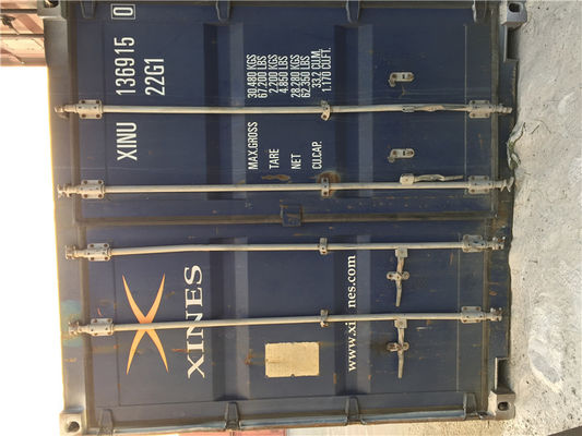 China 6.06m Length Used 20ft Shipping Container / Used Sea Containers For Sale supplier