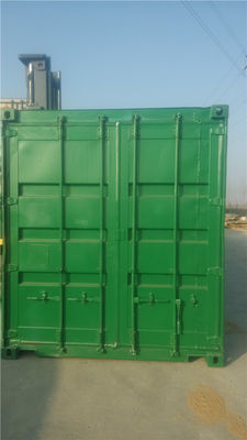 China 20gp Steel Used Shipping Containers For Sale Road Transport supplier