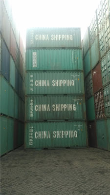 China 33 cbm Used 20ft Shipping Container with International standards supplier