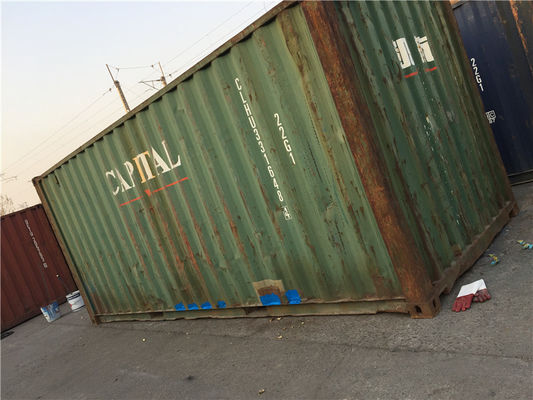 20 Ft Metal Storage Containers / International Container 28000kg Payload