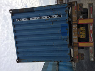 China 20ft / 40ft HC HQ 2nd Hand Shipping Containers For Intermodal Transport supplier