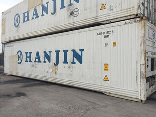China 20 Feet Cabinet Second Hand Metal Storage Containers Payload 28000kg supplier