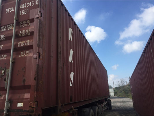 China 20 Ft Second Hand Steel Storage Containers / Second Hand Sea Containers supplier