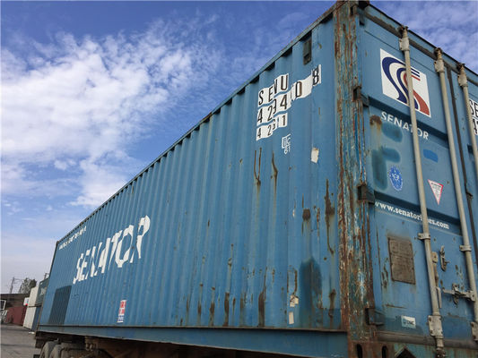 China Metal Used Ocean Freight Containers For Sale , 20 Foot Sea Container supplier