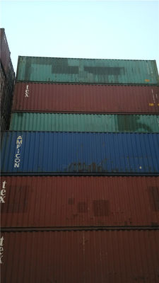 China Shipping Used Freight Containers 20 Ft International Container supplier