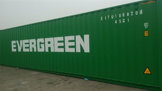 Blue Steel Used Freight Containers 20 Feet For Marine Transportation