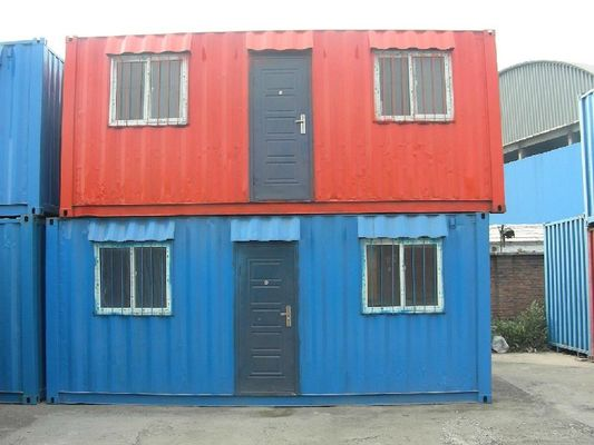 China 20 Feet Nepal Tiny Storage Container Houses / Sea Containers House supplier