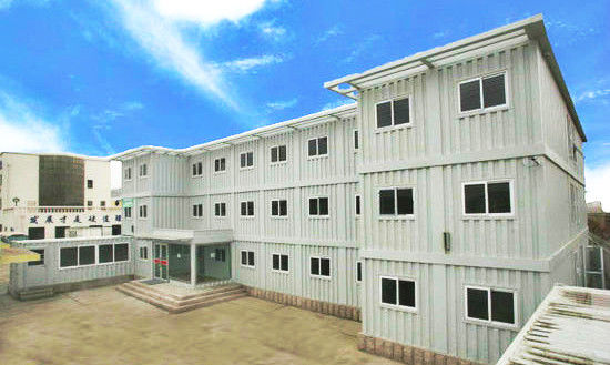 China 3 Floor Steel Flat Pack Container House Of Second Hand 20gp 33 Cbm supplier