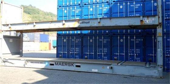 China 5.90m*2.35m*2.39m Inside Dimensions Of A 40 Foot Container For Warehousing supplier