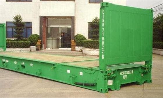 China Steel Dry Used Steel Storage Containers 2.59m Height For Goods Transport supplier