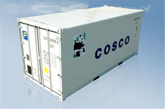 China Used 20 Foot Reefer Container / Steel Dry Reefer Container 9 Into A New supplier
