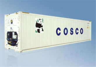 China Metal Used Reefer Container Dimensions OD 12.2m*2.44m*2.6m supplier