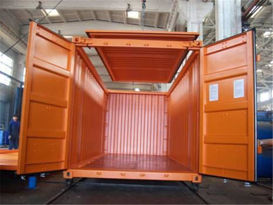 China 40OT  Used Open Top Containers Sale / Open Roof Container International Standards supplier