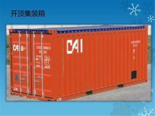 China Steel Used Open Top Shipping Container Payload 30500kg / High Cube Open Top Container supplier