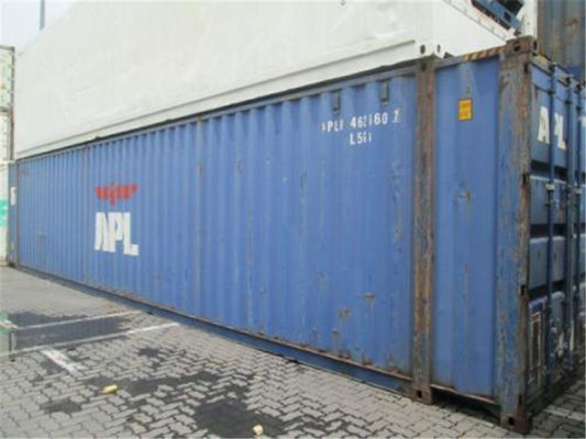 China Used Steel Storage High Cube Shipping Container 45HQ  8 Into A New supplier