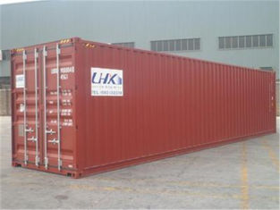 China 2nd Hand Steel High Cube Shipping Container / 45 Hc Container supplier