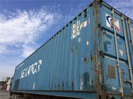 Good Quality Used Metal Shipping Containers & Metal Used Ocean Freight Containers For Sale , 20 Foot Sea Container on sale