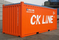 China Second Hand Open Top Shipping Container 40OT Open Top Sea Container factory