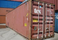 China Secondhand Used Steel Storage Containers / 45 High Cube Container factory