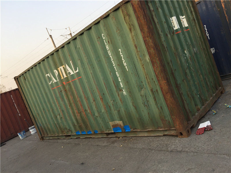 & 20 Ft Metal Storage Containers / International Container 28000kg Payload