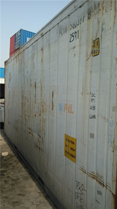 China White International Storage Container Houses / Metal Container Homes  supplier