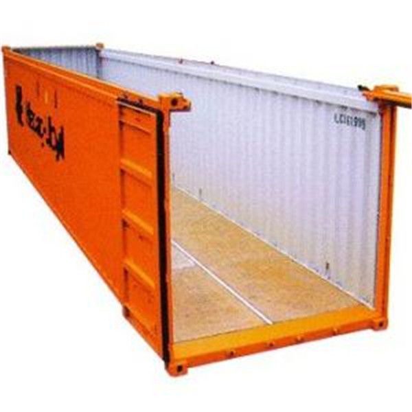40 feet open top shipping container steel. Black Bedroom Furniture Sets. Home Design Ideas