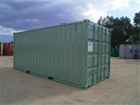 China Used Steel Storage Containers / Second Hand Sea Containers 5.90m * 2.35m* 2.39m factory