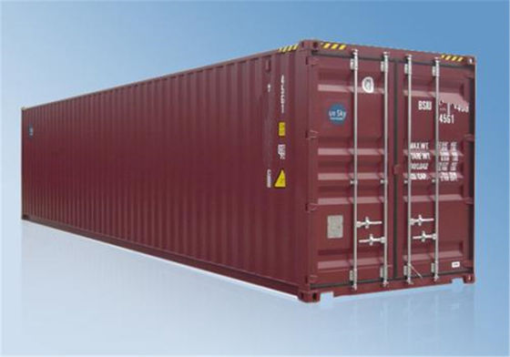 China Intermodal Transport Used Metal Shipping Containers 40ft 20ft Shipping Container distributor