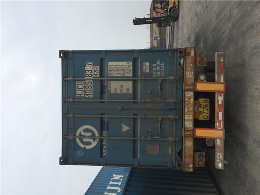 China Various Colors Used 40ft Shipping Container For Warehousing Logistics And Transport distributor