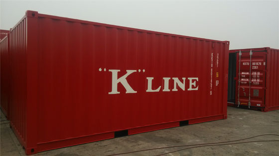 China 20gp Steel Dry Second Hand Shipping Containers / 20ft Sea Container distributor