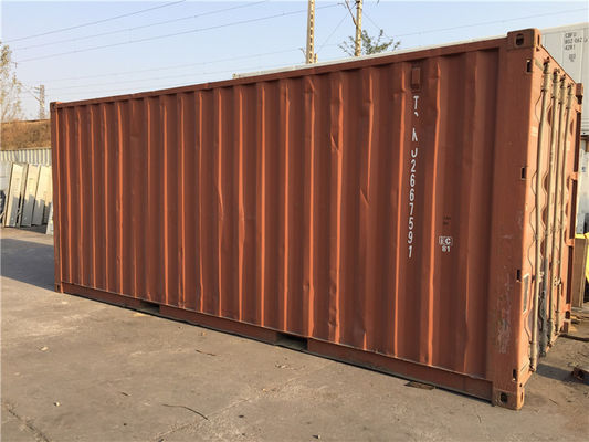 China Steel Dry Used 20ft Shipping Container / Second Hand Storage Containers distributor