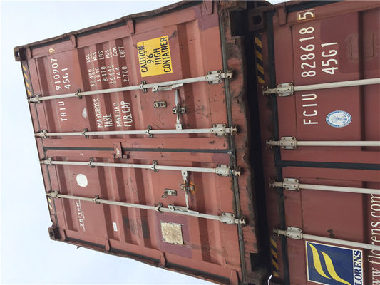 China Hot Dip Galvanized Second Hand Sea Containers For Logistics And Transport factory