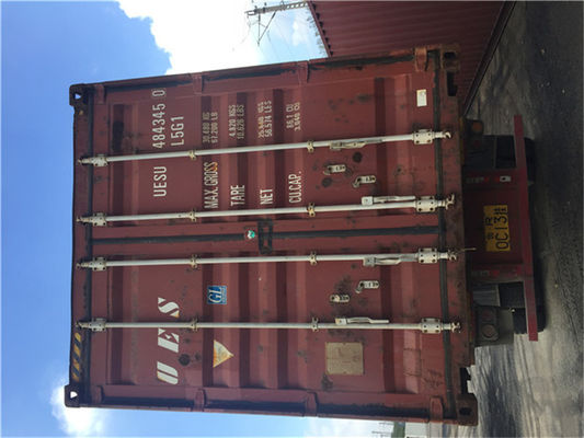 China 33 Cbm Goods 2nd Hand Shipping Containers / Used Freight Containers distributor