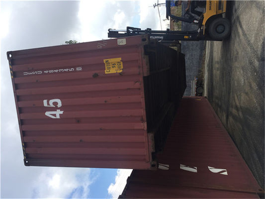 China 20 Feet 2nd Hand Shipping Containers / Used Steel Containers distributor