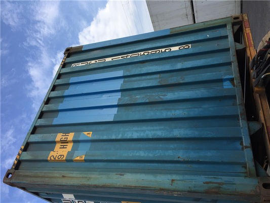 China Second Hand 20gp Steel Dry Used Freight Containers For Shipping distributor