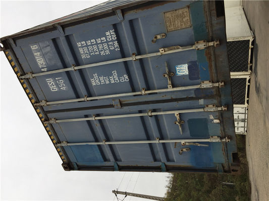China International StandardsUsed Freight Containers 20gp Steel Dry Containers distributor