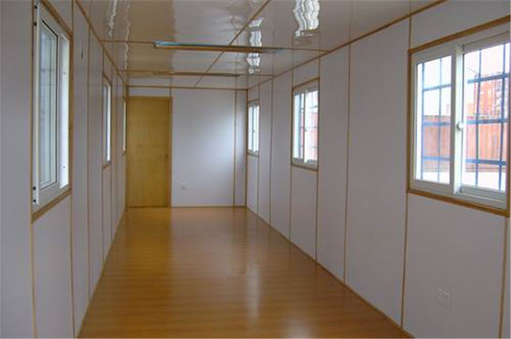 China Light Steel Used Living Metal Container Houses / Prefab Metal Buildings distributor