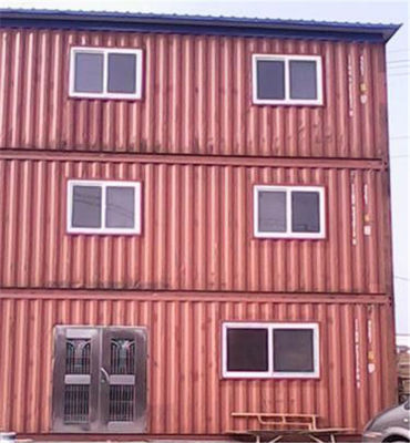 China Used  20gp Steel Portable Prefab Container House For Hotel Office distributor