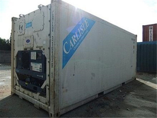 China Warehousing Second Hand 20ft Reefer Container Payload 26950kg factory