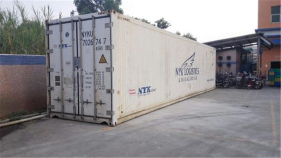 China 28cbm Shipping 40 Foot Refrigerated Container With Temperature Controlled distributor
